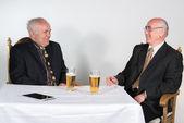 Two senior men — Stock Photo