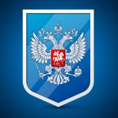 Coat of Arms of the Russian Federation — Stock Vector