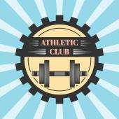 Logo for sport athletic club — Stock Vector