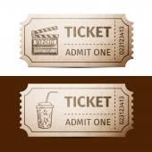 Tickets — Stock Vector