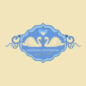 Wedding Labels Logo — Stock Vector