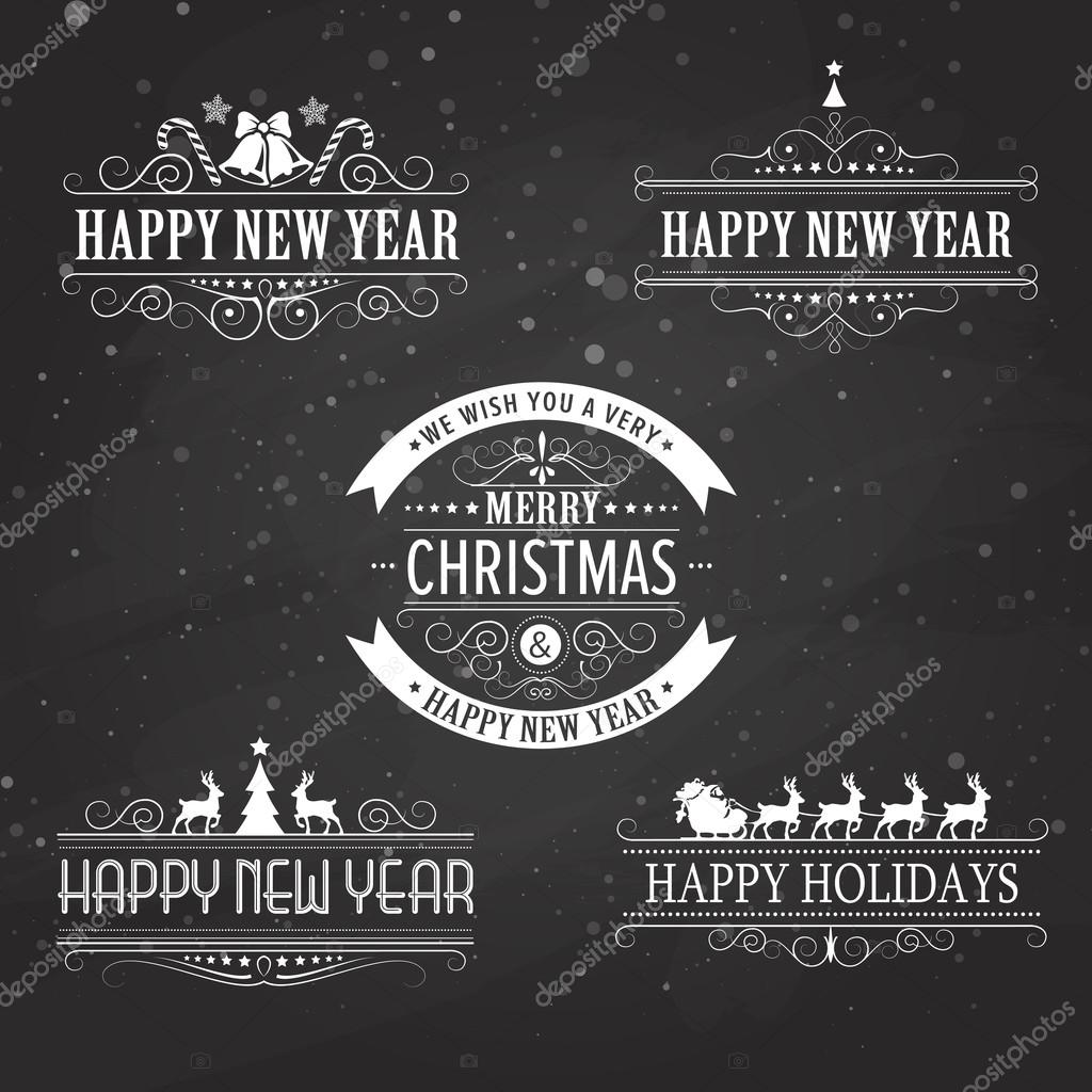 Marvelous Christmas Decoration Collection Of Calligraphic And Typographic Easy Diy Christmas Decorations Tissureus