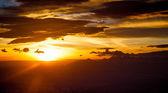 Wschód słońca  nad Tatrami — Stock Photo