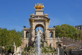 Josep Fontsere fountain, Barcelona — Stock Photo