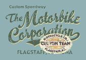 Custom Motorbike corporation — Stock Vector