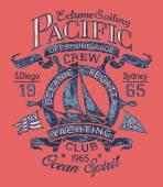 Extreme sailing regatta — Stok Vektör