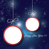 Christmas banner discounts — Vector de stock
