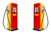 Retro fuel dispenser — Stock Photo