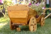Wagon handmade — Stock Photo