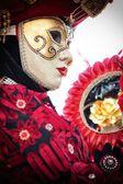 Venice carnival mask — Stock Photo