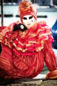 Máscara do carnaval de veneza — Foto Stock