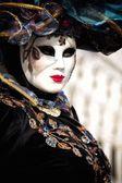 Venice carnival mask — Stockfoto