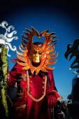 Маска карнавала в Венеции — Стоковое фото