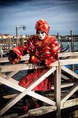 Benátky karneval maska — Stock fotografie