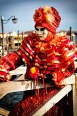 Máscara do Carnaval de Veneza — Fotografia Stock
