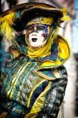 威尼斯狂欢节面具 — 图库照片