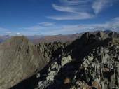 Uitzicht op de bergen — Stockfoto