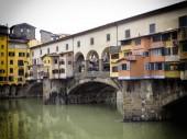 Florence Old Bridge — Stock Photo