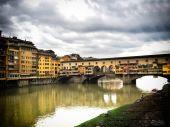 Florens gamla bron — Stockfoto