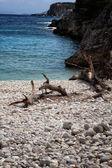 Dafnoudi beach — Stock Photo