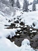 Schnee und Berge — Stockfoto
