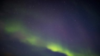 Northern Lights on the Arctic sky — Stock Video