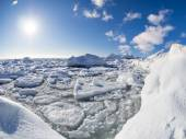 Winter in the Arctic - Svalbard — Stock Photo