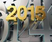 Golden year 2015 — Fotografia Stock