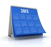 Desktop Calendar 2015 — Stock Photo