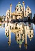 Karlskirche - St. Charles Church — Stock Photo