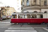 Speeding Tramway — Stock Photo