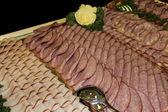 Sausage Buffet — Stock Photo