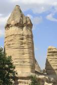 Cappadocia, Goreme, Anatolia, Desert, Landscape, Ancient, Turke — Stock Photo