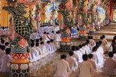 Caodai temple near Ho Chi Minh City, Vietnam — Stockfoto