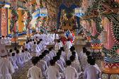 Caodai temple near Ho Chi Minh City, Vietnam — Stock Photo