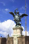 Saint Michael statue  — Stock Photo