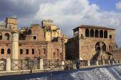 The Via dei Fori Imperiali in Rome, Italy — Stock Photo