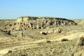 Amazing geological features in Cappadocia, Turkey — Stock Photo