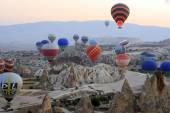 Hot Air Balloon Ride, Cappadocia — Stock Photo