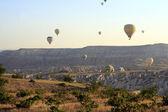 Hot Air Balloon Ride, Cappadocia — Stock Photo