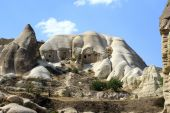 Fairy Chimneys in Cappadocia — Stock Photo