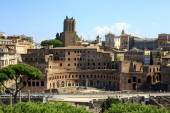 Trajan's Forum in Ancient Rome, Italy — Stock Photo