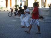Everyday life on streets of Havana Centro — Stock Photo