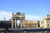 Arco della Pace — Stock Photo