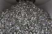 Pile of cans — Stock Photo
