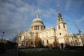 St. Paul Cathedral in London England  — Zdjęcie stockowe