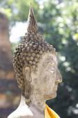 Budha head close-up — Stock Photo