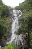 Sarika a famous waterfall in Nakhonnayok, Thailand — Foto de Stock