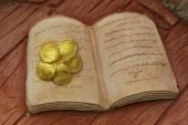 Stone book — Stock Photo