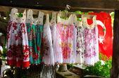 Handmade traditional dresses — Stok fotoğraf